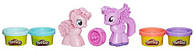 Создай любимую пони, с формами и 4 баночками пластилина, Play-Doh (B0010)