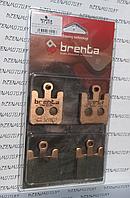 Итальянские синтетические тормозные колодки BRENTA 4119 для мотоциклов