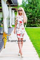 """Эксклюзивное, очень красивое, летнее, женское платье """"На потайной молнии"""" 42-60р РАЗНЫЕ ЦВЕТА!"""