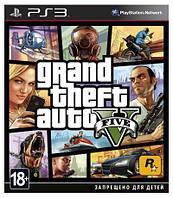 GTA V Grand Theft Auto V PS3 русские субтитры БУ
