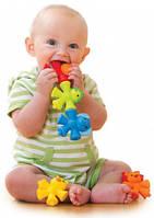 Развивающая игрушка-конструктор Красочные животные, Sensory (005207S)