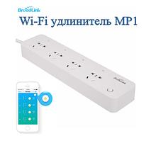WI FI вимикач BroadLink МР1 на 4 слота з таймером Смарт подовжувач
