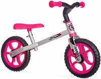 Беговел First Bike (розовый), Smoby Toys (770201)