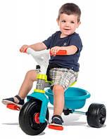 Детский велосипед с багажником (зелено-голубой), Smoby Toys (740314)
