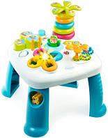 Детский игровой стол Cotoons Цветочек (синий), Smoby Toys (211169)