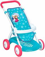 Коляска для прогулок Frozen с корзиной, для пупсов до 42 см, Smoby Toys (254045)