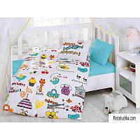Комплект детского постельного белья Cotton Box Bebek Mutlu Bebek