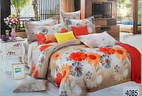 Сатиновое постельное белье семейное ELWAY 4085
