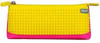 Пенал фуксия-желтый, Upixel  (WY-B002B-A)