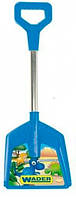 Детская лопатка короткая (синяя), Wader, син. (72350-2)