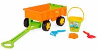 Іграшка візок з н-ром до піску (10952)