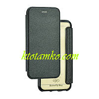 Чехол Book Cover Royal Case Samsung A320 (A3-2017) Black