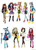 Куклы Монстер Хай Monster High серия Freaky Fusion Чумовое слияние