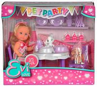 Набор с куклой Эви Вечеринка домашних животных, Steffi & Evi Love (573 2831)