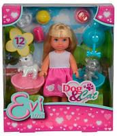 Набор с куклой Эви Домашние любимцы, Steffi & Evi Love (573 3044)