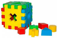 Іграшка розвиваюча Чарівний куб 12 ел. в коробці (39376)
