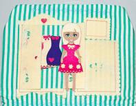Набор для детского творчества Игровой кукольный домик, Little You (SDK0)