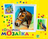 Цветная мозаика Попугай, УНІКА (М-11)