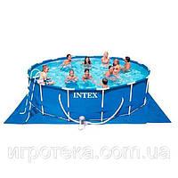 Бассейн каркасный INTEX 457х84 см (28228)