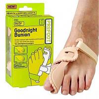 Бандаж на большой палец ноги Goodnight Bunion - вальгусный фиксатор на ночь, 1001554, вальгусный фиксатор, фик