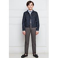 Куртка из джинсовой ткани для мальчика Faberlic, цвет темный индиго , р. 116