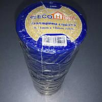 Изолента ECO 0,11мм*18мм/18м синяя