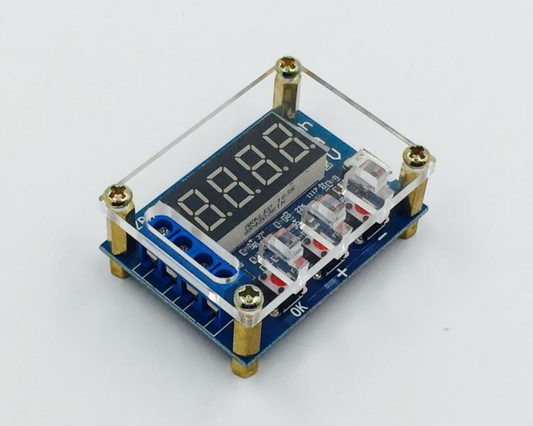 Тестер, измеритель ёмкости аккумуляторов 1V-15V 3A (ZB2L3) В Корпусе !