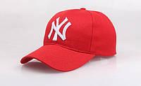 Бейсболка New York красный