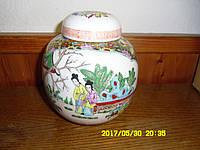 Китайская фарфоровая ваза ручная работа