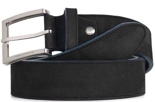 Ремень мужской кожаный Piquadro CU3897C51_N 125х3,5 см черный