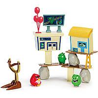 Игровой набор Angry Birds Рэд атакует город свинок. Оригинал Spin Master