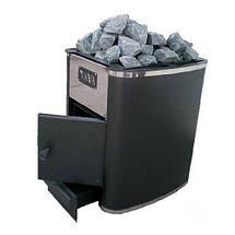 Печь каменка для сауны Heat-20 без выноса на дровах, фото 3