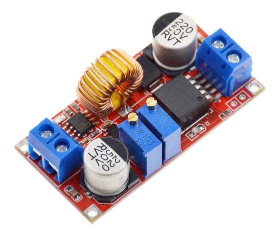 XL4015 DC CC/CV стабилизатор понижающий 6-38В - 1.25-36В, 0-5А