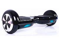 Гироборд гироскутер Smartway 6,5 дюймов Черный с подсветкой колес ( smart board, сигвей)+ПУЛЬТ В КОМПЛЕКТЕ