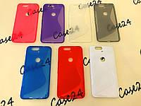 Силіконовий чехол Duotone для Huawei Nexus 6P (7 кольорів), фото 1