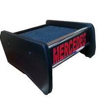Столик полочка на торпеду Mercedes Vito 03-15 W639 с логотипом