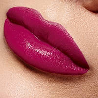 Полуматовая губная помада «Овация», тон «Вишнёвый сатин»