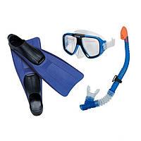 Набор для плавания Intex 55957, маска, ласты и трубка, фото 1