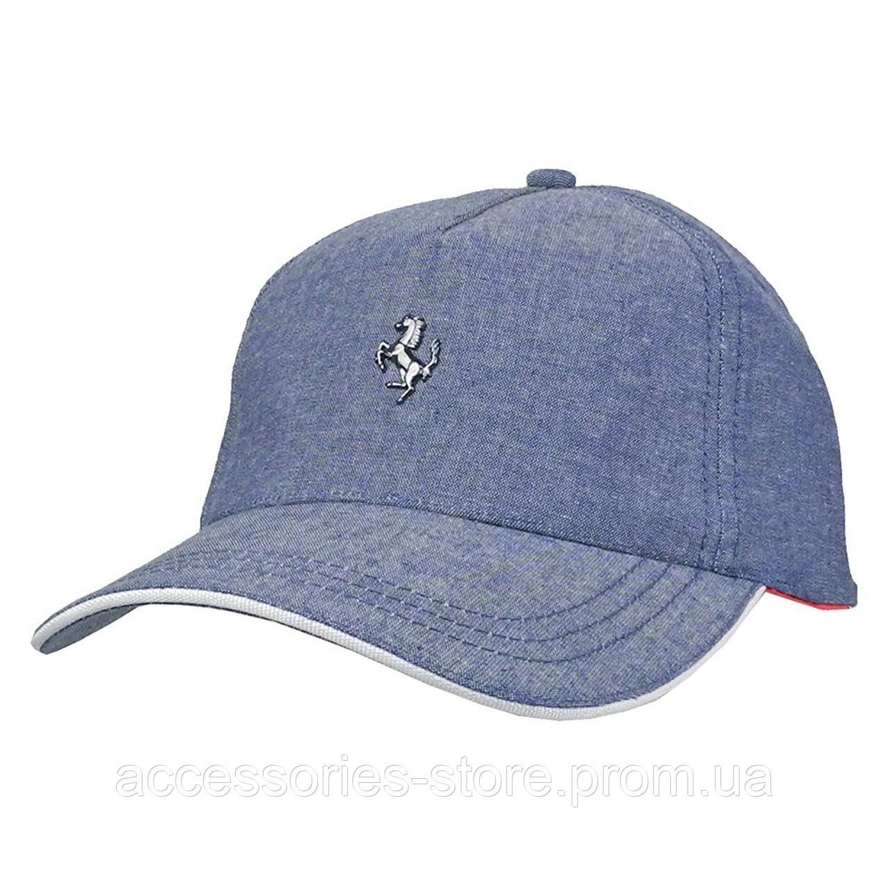Бейсболка Official Ferrari Jean Blue Hat