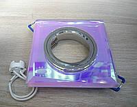 Точечный светильник Feron 8150-2 (разнообразие цветов!) серебро-мультиколор на 7 цветов