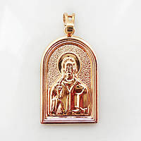 Ладанка Xuping иконка Иисус Христос длина 3.7см 223