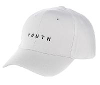 Бейсболка Youth (унисекс) белая