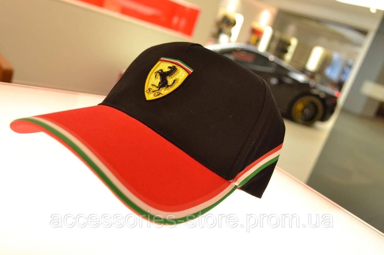 Бейсболка Official Ferrari SF Check Logo Hat