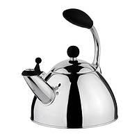 Чайник 2.5л Vinzer Presto (89017) из нержавеющей стали со свистком