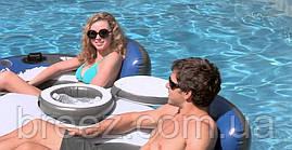 Надувной кресло-круг для плавания Intex 58837, 243 х 157 см , фото 3