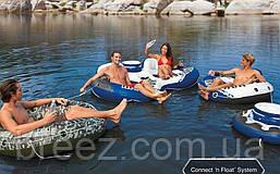 Надувной кресло-круг для плавания Intex 58837, 243 х 157 см , фото 2