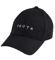 Бейсболка Youth (унисекс) черная