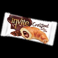 Круассан  INVITE c шоколадным кремом , 50 гр