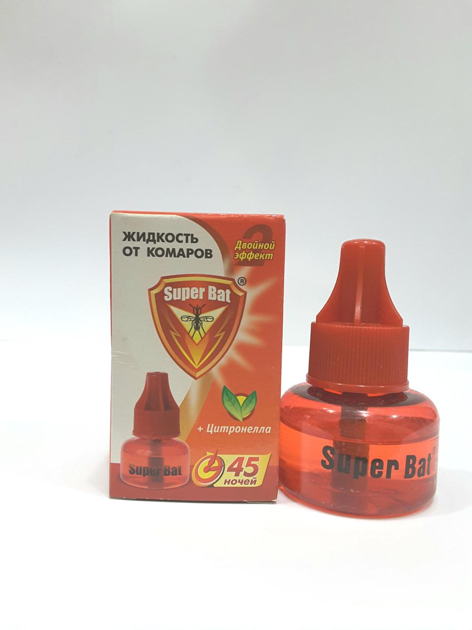 Жидкость от комаров Super Bat + Цитронелла