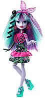 Monster High Twyla Electrified Monstrous Hair Ghouls Монстер Хай Твайла Наэлектризованные
